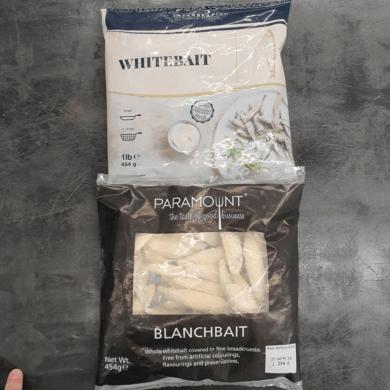 Whitebait 454g FROZEN