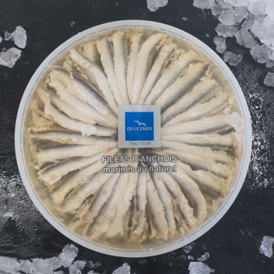 Anchovy Fillets Marinated in Oil 1kg