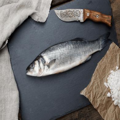 Sea Bass Whole Farmed EACH