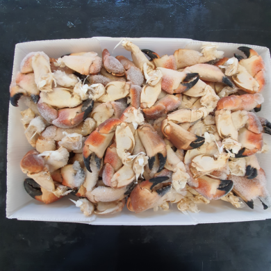 Crab Claw Whole Cooked 10kg FROZEN