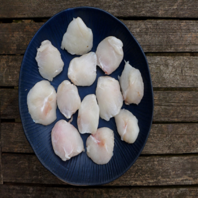 Monkfish Cheeks 1KG FROZEN
