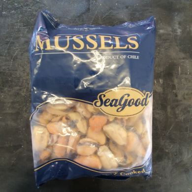 Mussel Meat Cooked 1kg FROZEN