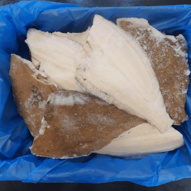Plaice Fillets Skin On 4.54kg FROZEN
