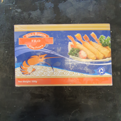 Prawn Wrapped in Filo Pastry 500g FROZEN
