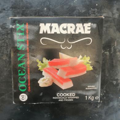 Seafood Sticks Macrae (Surimi) 1kg FROZEN