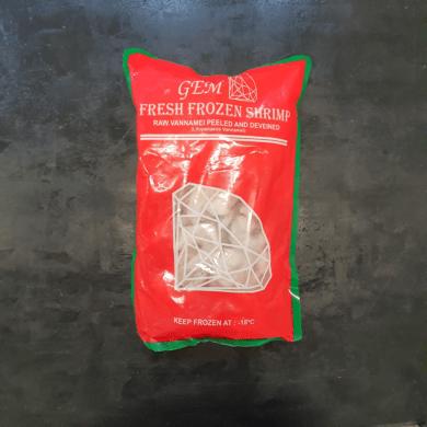 Tiger Prawn Raw Peeled and Deveined 1kg FROZEN